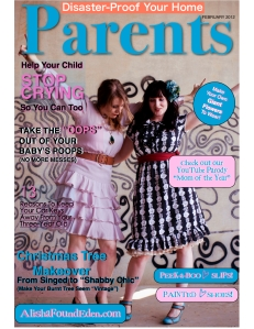 Alisha found Eden Parents Magazine Cover 1