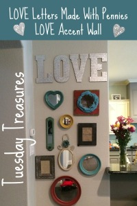 Tuesday Treasures LOVE Wall