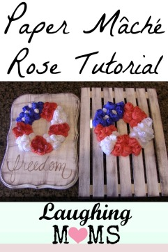 LM Blog Paper Mache Roses