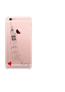iPhone 6S Big Ben Love Sketch
