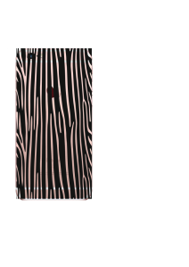 iPhone 6S Black Clear Zebra