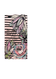 iPhone 6S Black Stripes Patchwork Flowers Stars In Eyes 2