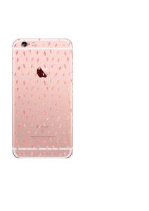 iPhone 6S Blush Dots Watercolor